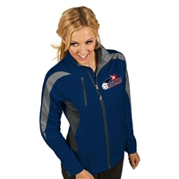 Womens Discover Jacket with USAPA logo embroidered. Sizes S-2XL. Navy/Smoke/Steel
