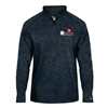 Impact Pullover for Men with USAPA printed logo. Sizes S-3XL. Navy