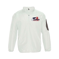 Mens Sideline Windbreaker printed with USAPA logo. Sizes S-3XL. White