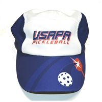 USAPA Racer Hat with adjustable back.  One size.