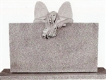 Weeping Angel Granite Statue Headstone
