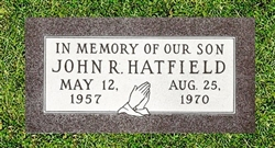 Infant Granite Grave Marker