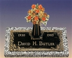 Devotional Dogwood Memorial Grave Marker
