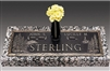 Evergreen Companion Memorial Broze Grave Marker