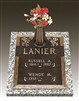 Dogwood Double Interment Memorial Bronze Grave Marker