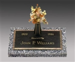 Oaklawn Memorial Bronze Grave Marker
