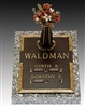 Oaklawn Double Interment Memorial Bronze Grave Marker lowest price on net