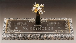 Rose Companion Memorial Bronze Grave Marker
