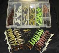 "2"" Shrimp 48 Piece Kit with Tackle Box"