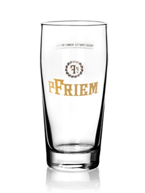 pFriem 16oz willy beer glass