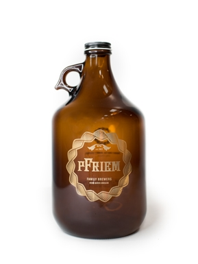 pFriem 64oz glass growler