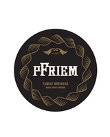 pfriem round stickers