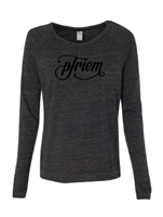 Women's pFriem Eco Black Pullover