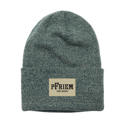 pFriem Hunter Green Coal Beanie