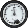 Small Dash Mounted Clock Gauge Black Bezel