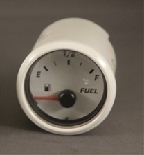 Bullet Replacement Fuel Gauge White or Black Bezel