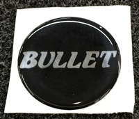 Bullet Logo Domed Steering Wheel Center Badge Decal