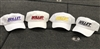 Classic White Series Bullet Logo Hats