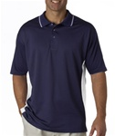 UltraClub Men's Cool-N-Dry Two-Tone Polo (UC8406)