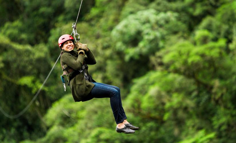 Rainforest Canopy and Zipline Expedition in Juneau, Alaska (Treadwell Mine)