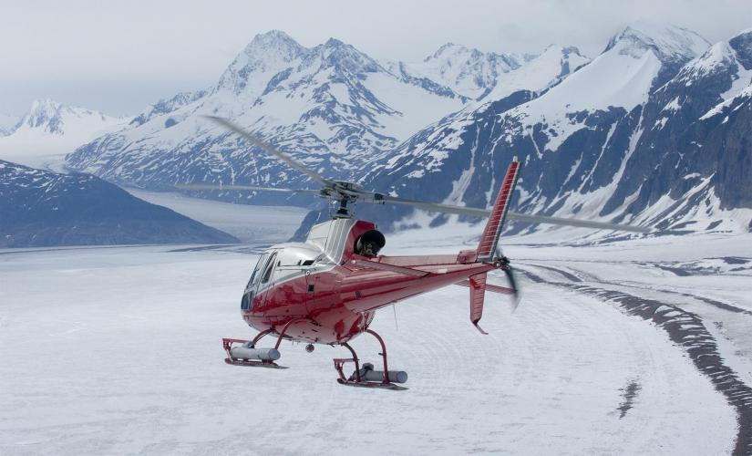Taku Glaicer Cruise Excursion on Juneau Icefield in Alaska