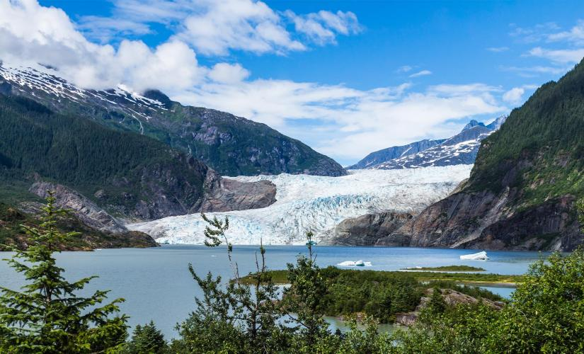Mendenhall Glacier Shore Excursion and Juneau City Tour in Alaska