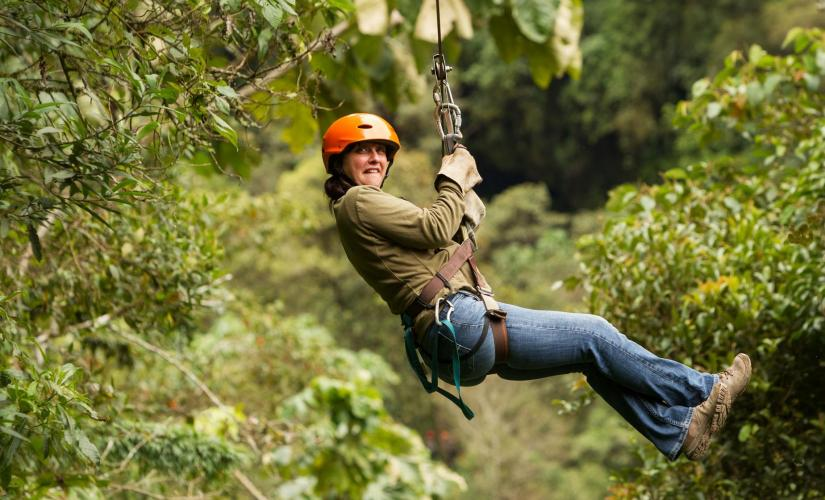 Jungle Zip Line and Wildlife Treetop Eco in Belize City with Mayan Mountains River Swimming