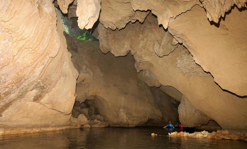 Underground Cave Tubing in Belize Cavesbranch River with Hike