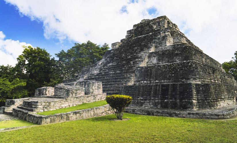 Chacchoben Mayan Ruins History in Costa Maya Region of the Lakes