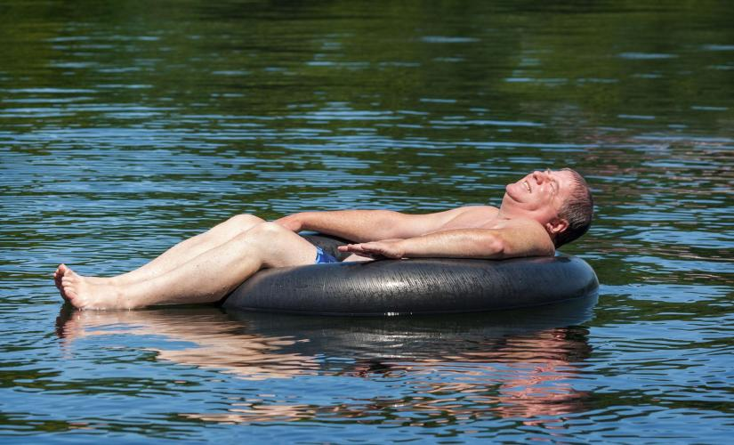 River Tubing Tour in Falmouth (White River)