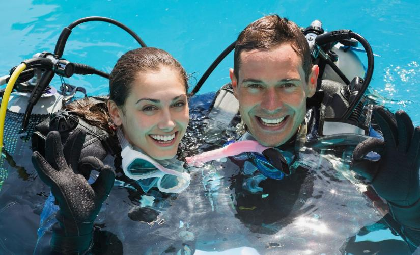 Half Day Introductory Scuba Dive in Nassau, Learn to Dive