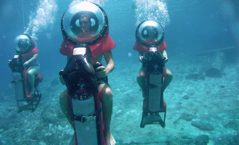 Personal Submarine Adventure in Nassau