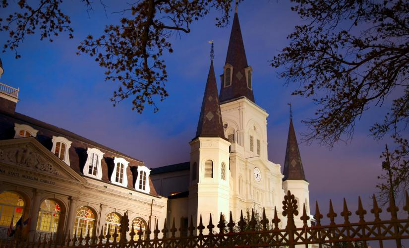 Nighttime Ghosts and Spirits Walking Tour in New Orleans (Bourbon Orleans Hotel)