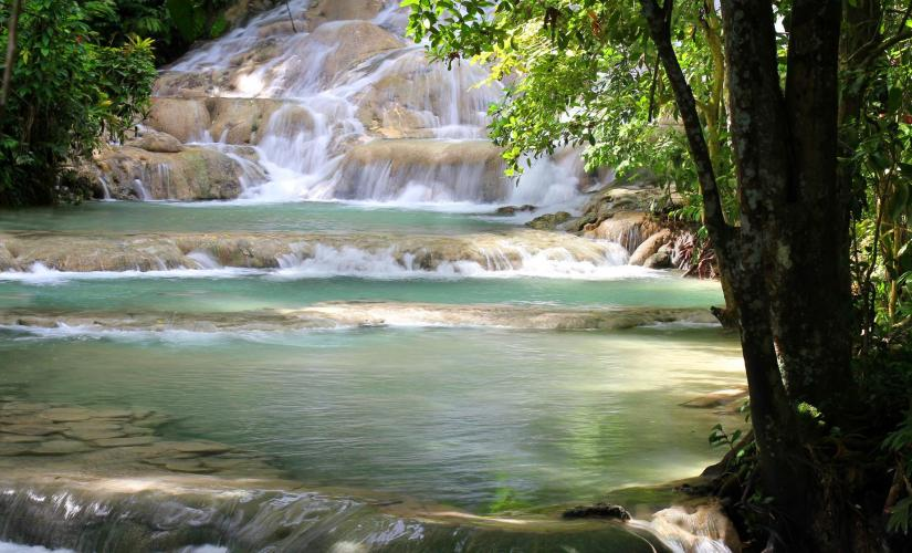 Horseback Beach Ride and Dunns River Falls in Ocho Rios Exclusive