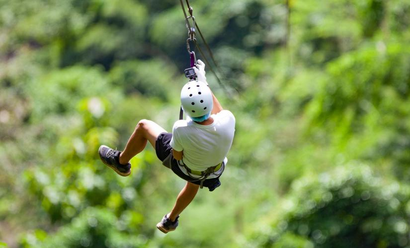 Roatan Zip, Eco Walk and Beach Break in Roatan