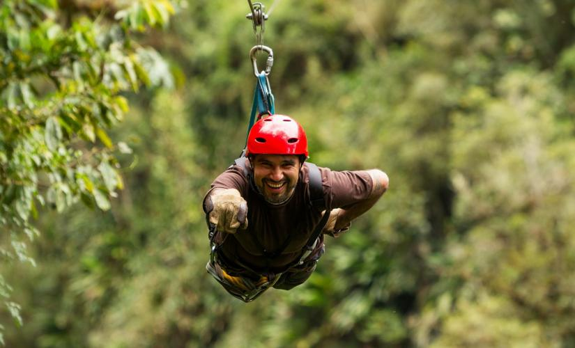 Rain Forest Adventures & Sky Rides Adrenaline Zip Line Shore Trip in St. Lucia