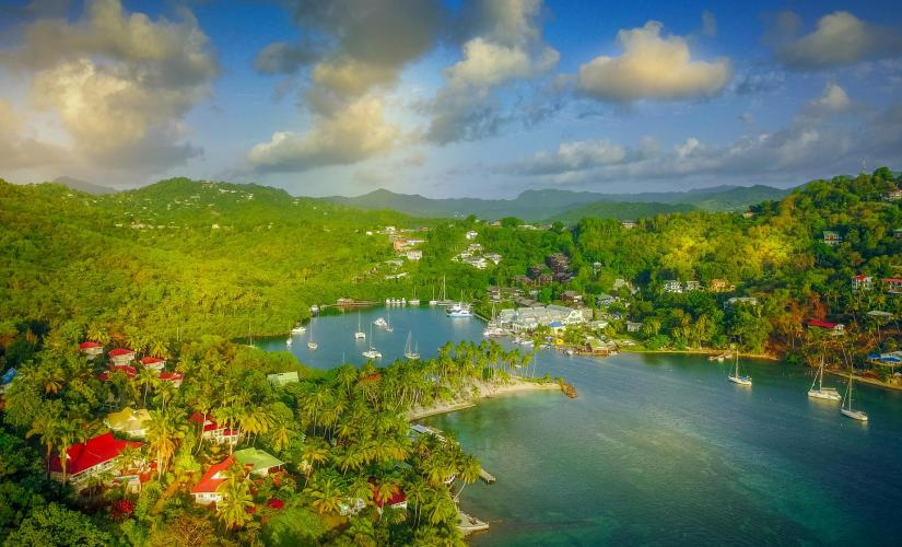 Island Adventure by Land And Sea in St. Lucia (Marigot Bay, Anse La Raye, Canaries)