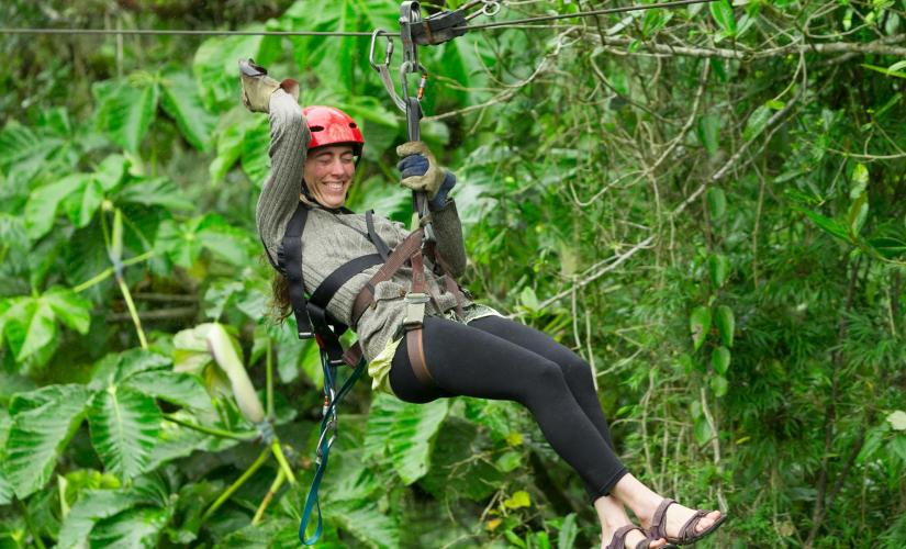 Hotwire Pitons Zipline by the Sea Day Trip in St. Lucia