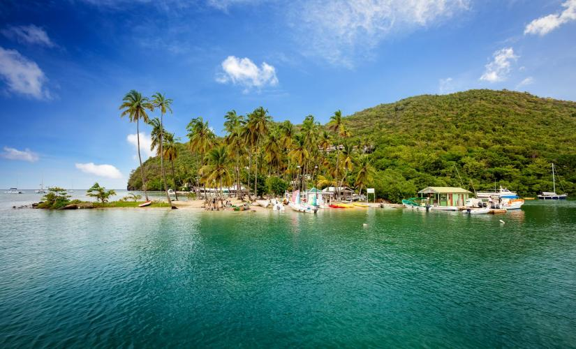 Marigot Bay to Roseau River Kayaking in St. Lucia