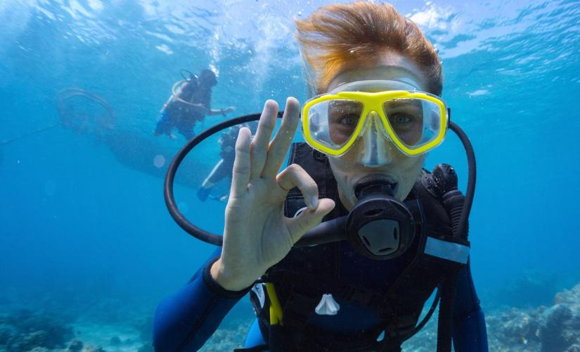 PADI Discover Scuba Diving in St. Lucia