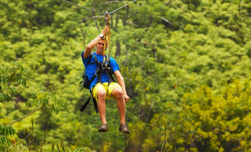 Dune Buggy & Zipline Tour in St. Lucia (Castries, Dennery)