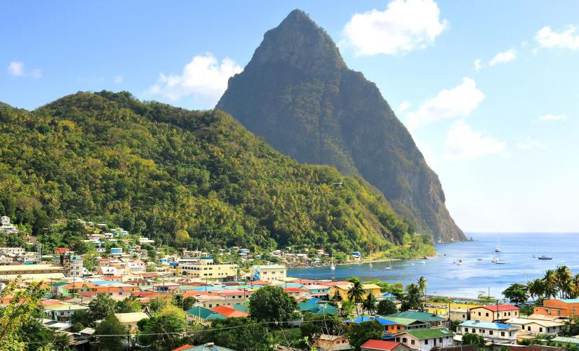 Scenic Soufriere Tour in St. Lucia (Piton Waterfalls, Warm Mineral Falls, Soufriere Waterfall)