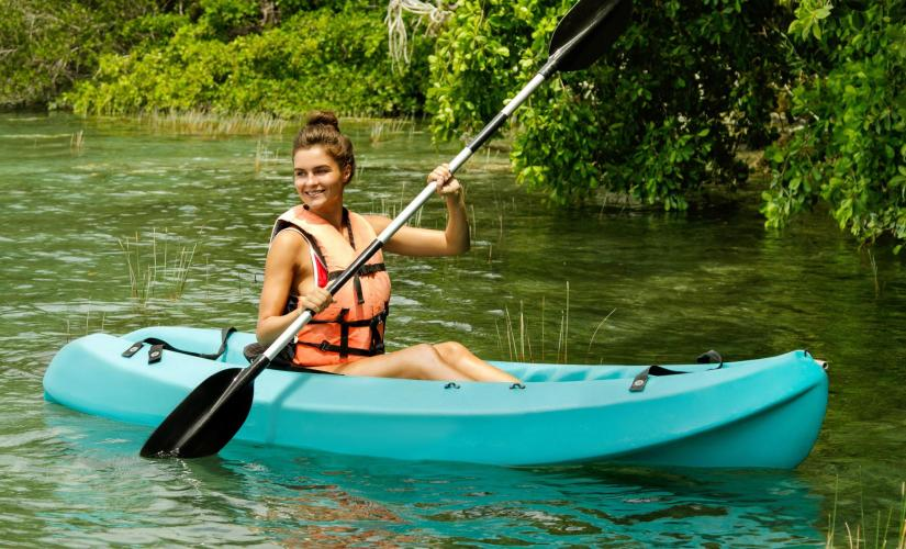 Kayak Hike and Snorkel Full Day Adventure in St. Thomas (Inner Mangrove Lagoon Sanctuary, Cas Cay)