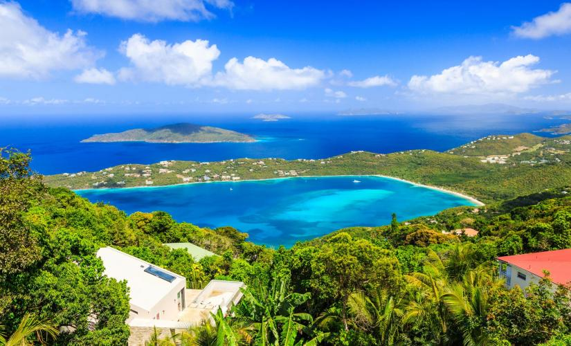 St. Thomas Island Overview (Skyline Drive, Fort Christian, Drake's Seat)