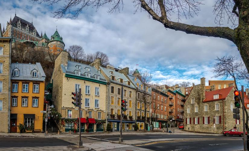 Old Quebec City Walking Tour (Place-Royale, Chateau Frontenac)