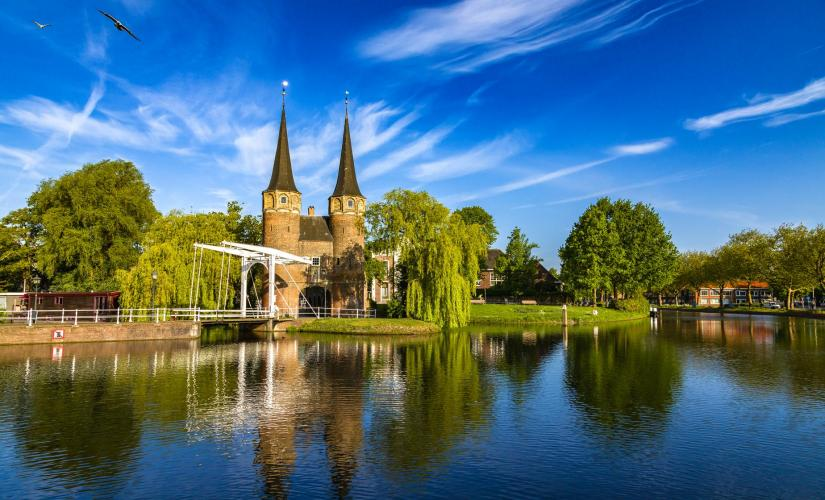 Photo of Delft and the Hague