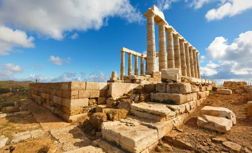 Athens Temple of Poseidon and Cape Sounion Half Day Tour (Aegean Sea, Glyfada)