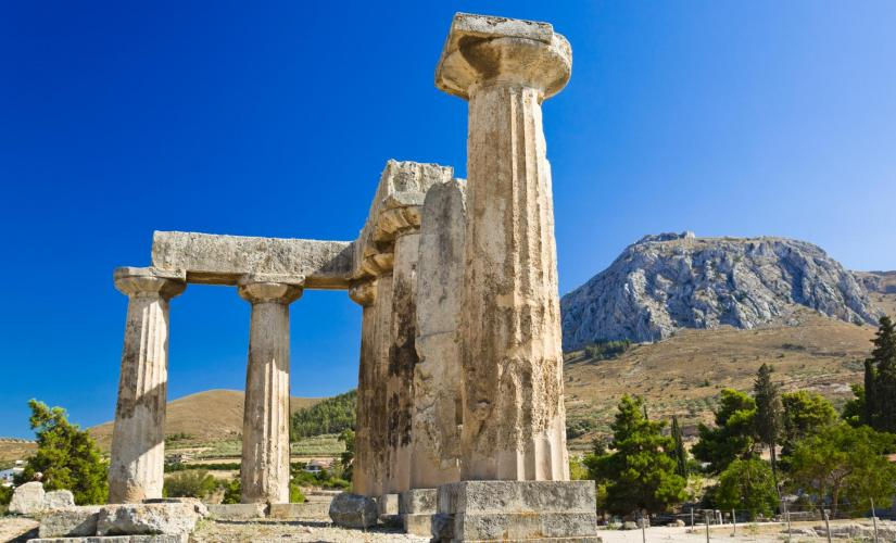 Athens Corinth Half Day Tour (Temple of Apollo and Peirene Foundation)