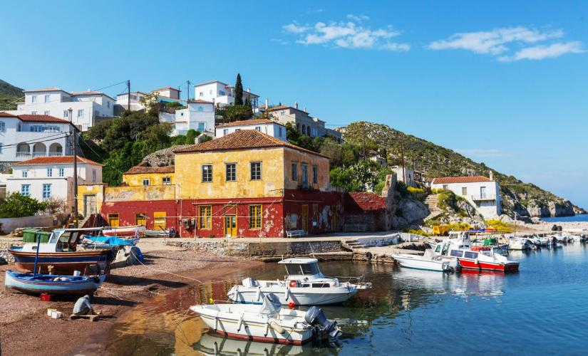 Hydra, Poros, and Aegina Boat Trip from Athens (Monastery of Zoodohos Pigi, Kaminia Beach)