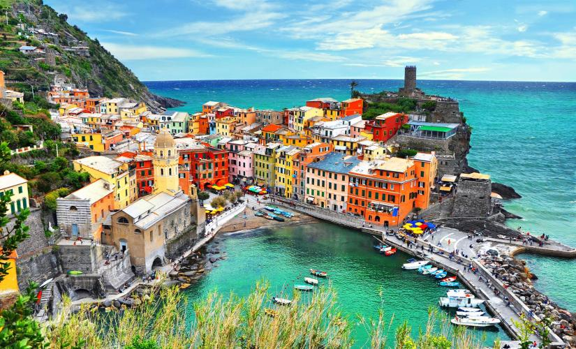 Private Cinque Terre Tour from Livorno (Via dell'Amore, La Spezia)